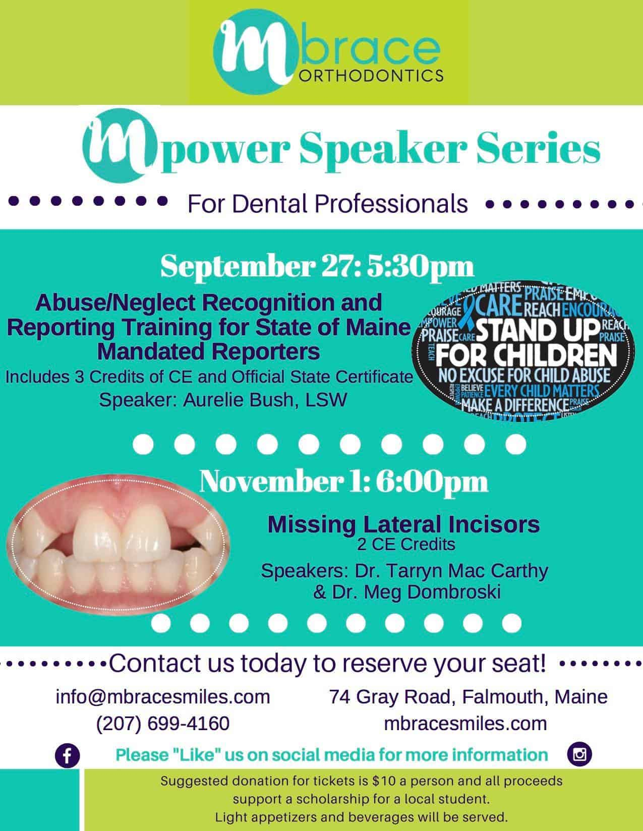 39188325 981909885322652 4052522203231551488 o - Mpower Speaker Series: Missing Lateral Incisors