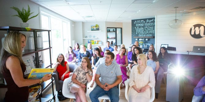 Mbrace Orthodontics Falmouth Maine Orthodontic Office Mbrace Events 68 of 27 670x335 - Empowering our Community with Events and Local Speakers