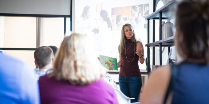 Mbrace Orthodontics Falmouth Maine Orthodontic Office Mbrace Events 69 of 27 670x335 - Empowering our Community with Events and Local Speakers