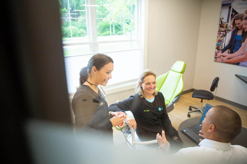 Mbrace Orthodontics Falmouth Maine Orthodontic Office Mbrace Orthodontists.jpg 45 1024x683 - Our Empowering Team