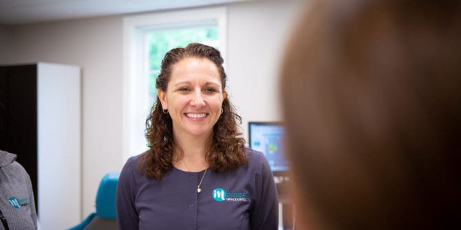 Mbrace Orthodontics Falmouth Maine Orthodontic Office Team Candids.jpg 30 670x335 - Our Empowering Team
