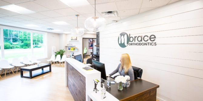 Mbrace Orthodontics Falmouth Orthodontics Office Mbrace Office Images 14 670x335 - We're an Orthodontic Office Empowering Southern Maine