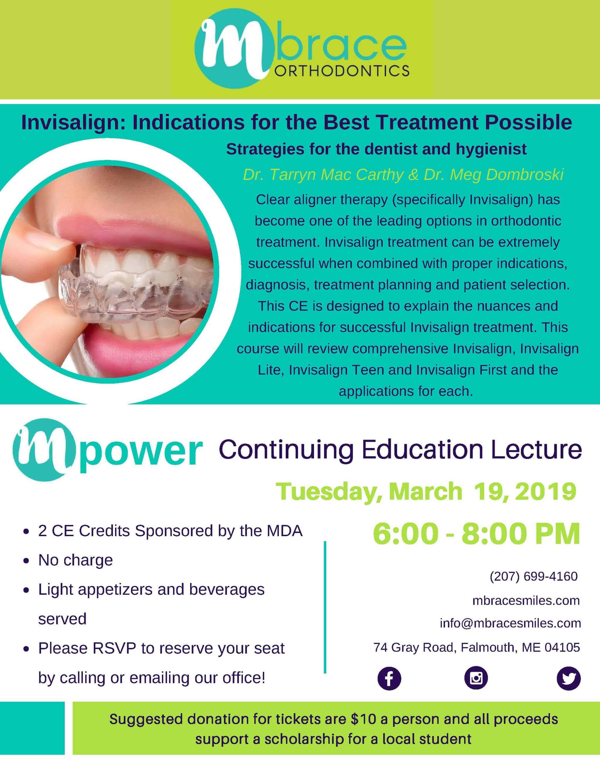 mPower Lecture Series 2019 - Mpower Speaker Series: Spring Schedule 2019