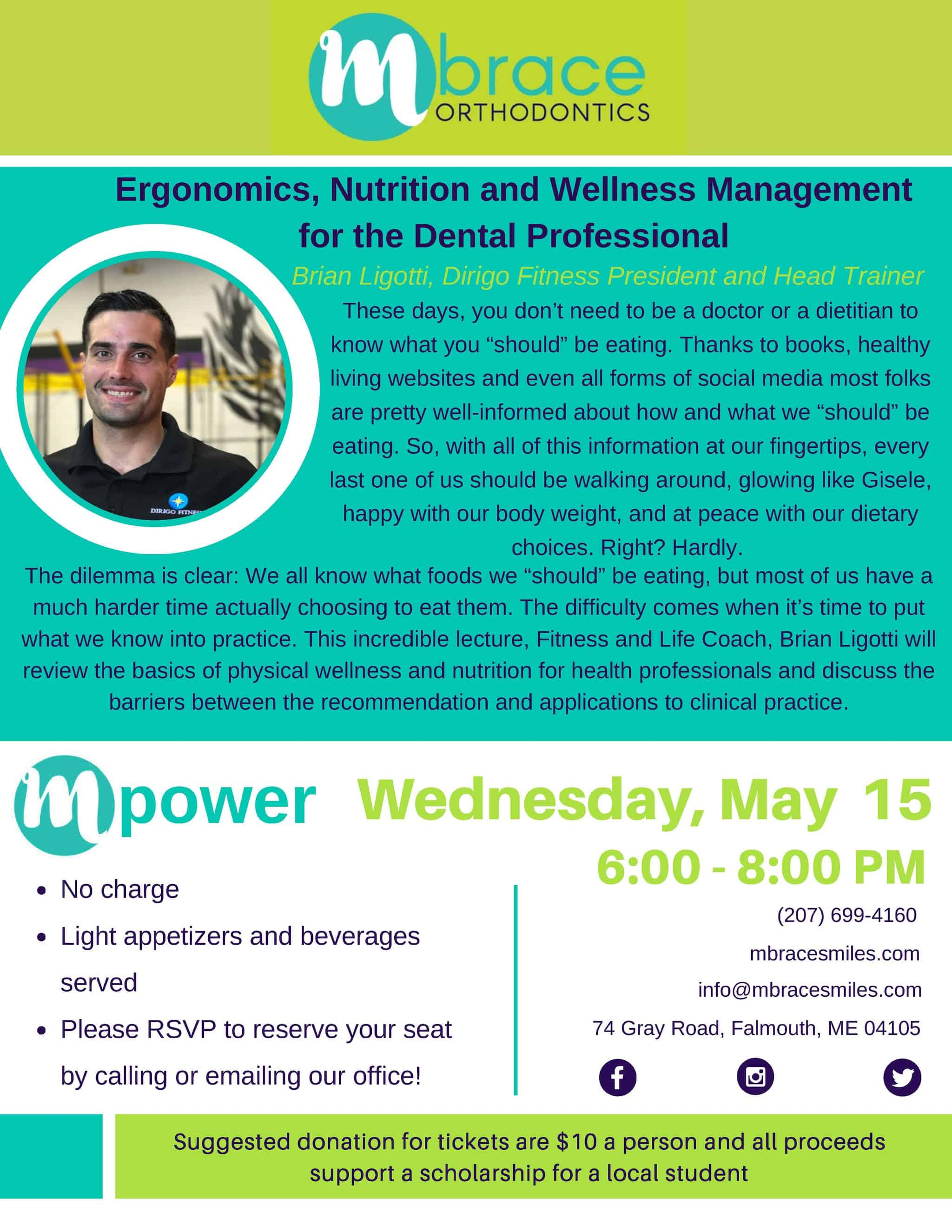 mPower Lecture Series Flyers may 2019 - Mpower Speaker Series: May 2019