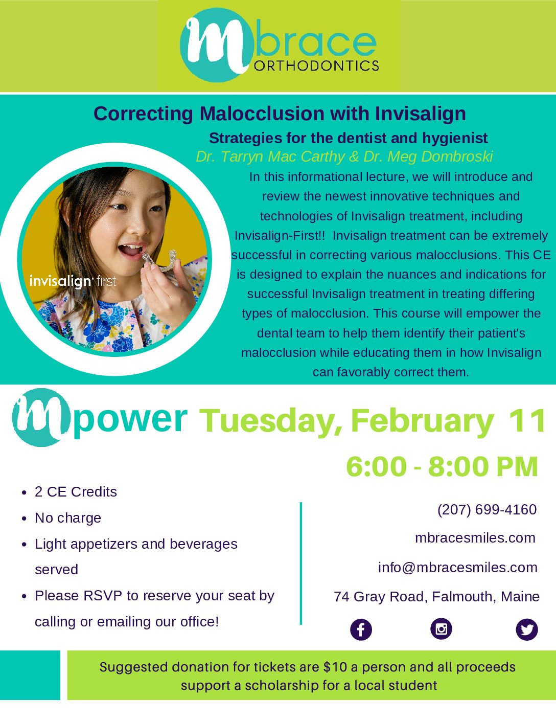 mPower Lecture Series Flyer Feb20 pdf - Mpower Speaker Series: Spring Schedule 2020